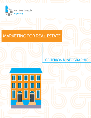 Marketing for Real Estate Infographic