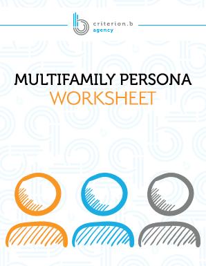 Multifamily Persona Worksheet