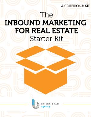 The Inbound Marketing for real estate starter kit